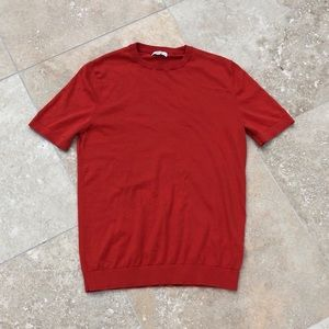 Men's REISS Short Sleeve Knit Shirt! Small